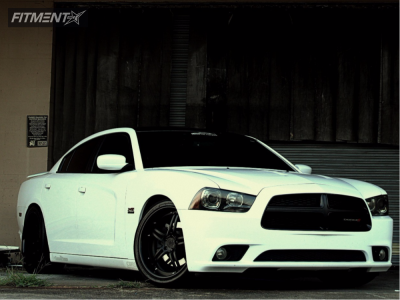 2013 Dodge Charger - 20x9 13mm - 360 Forged 5 - Coilovers - 245/40R20