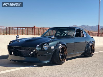 1976 Datsun 280Z - 16x11 -34mm - SSR Sp1 - Coilovers - 225/45R16