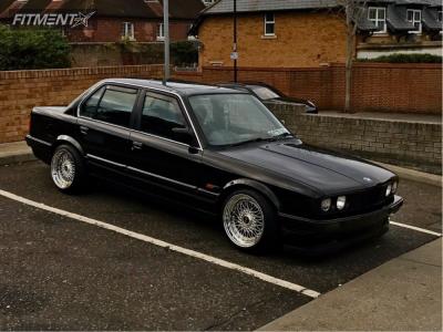 1989 BMW 318i - 16x9 20mm - BBS Rs - Lowering Springs - 195/45R16