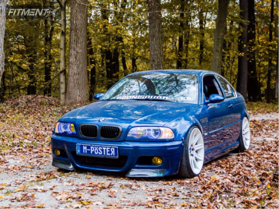 2002 BMW 330Ci - 19x9 24mm - Borbet  - Coilovers - 225/35R19