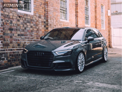 2017 Audi A3 - 19x8.5 45mm - Rotiform Rse - Coilovers - 245/40R19