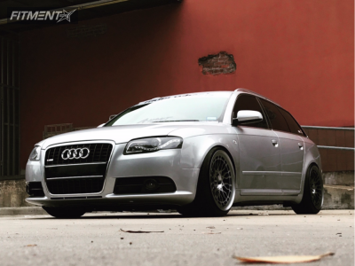 2008 Audi A4 Quattro - 19x10 40mm - Radi8 R8a10 - Coilovers - 235/35R19
