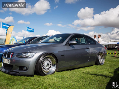 2008 BMW 335i - 18x10.5 6mm - BBS Rs - Coilovers - 225/40R18