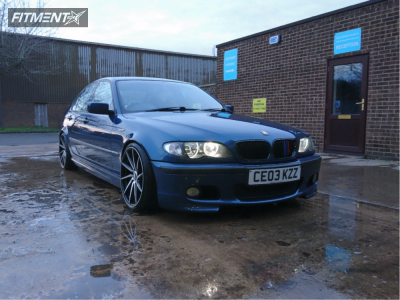 2003 BMW 3 Series - 18x8.5 43mm - BBS  - Coilovers - 215/35R18