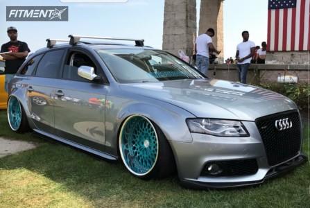 2010 Audi A4 - 19x10.5 -16mm - GMR  - Air Suspension - 225/35R19