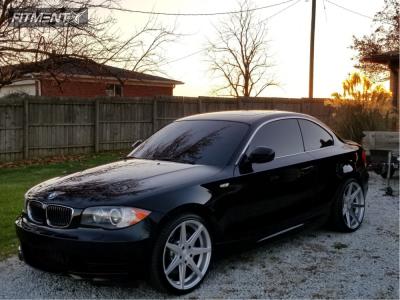 2011 BMW 135i - 19x8.5 35mm - Rohana Rc7 - Stock Suspension - 225/35R19