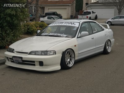 1995 Acura Integra - 16x9 15mm - Whistler Kr7 - Coilovers - 195/45R16