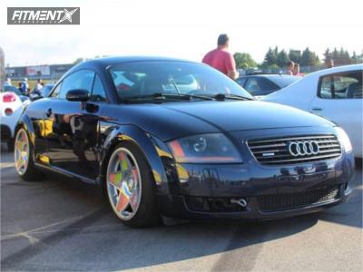 2002 Audi TT Quattro - 18x9.5 35mm - 3SDM 0.05 - Coilovers - 215/45R18
