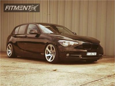 2013 BMW 128i - 18x9.5 35mm - 3SDM 0.06 - Lowering Springs - 245/35R18