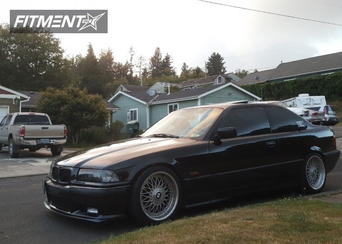 1 325is bmw coilovers bbs lm custom flush