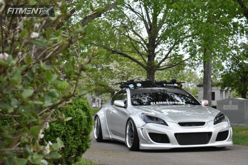 2011 Hyundai Genesis Coupe Vossen Vws2 Air Lift Performance Bagged