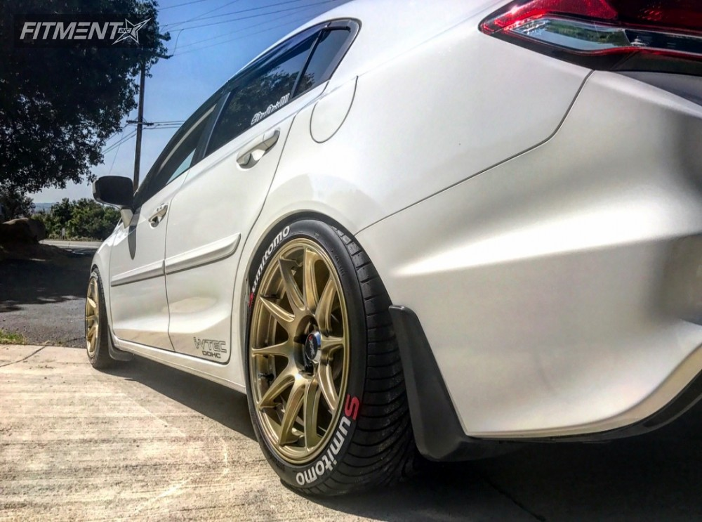 2014 honda civic xxr 527 d2 racing lowering springs for Gold honda civic