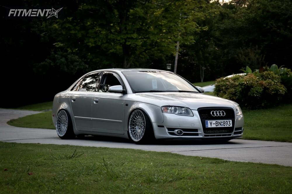 2007 Audi A4 Quattro Avant Garde M540 Solowerks Coilovers