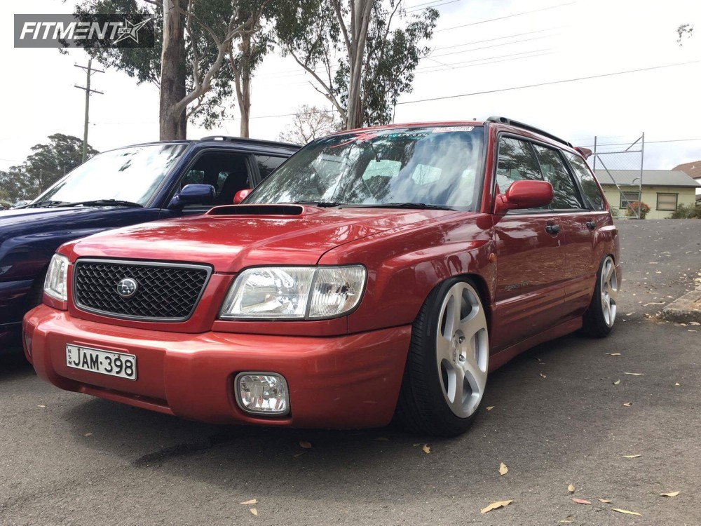 2001 subaru forester rotiform tmb k sport coilovers fitment industries 2001 subaru forester rotiform tmb k