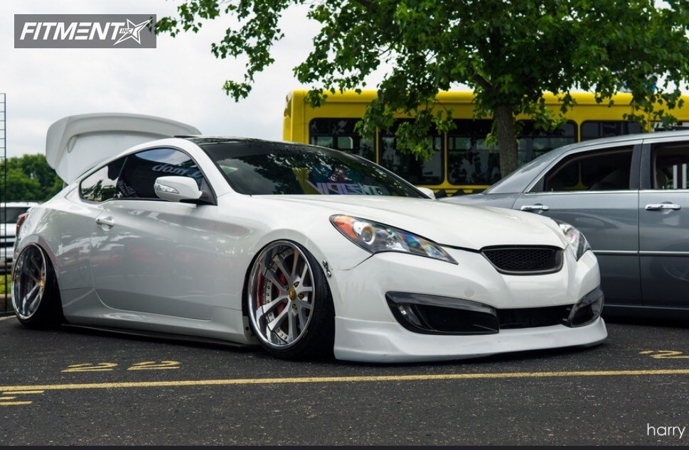 2010 hyundai genesis coupe weds kranze lxz air lift. Black Bedroom Furniture Sets. Home Design Ideas